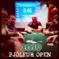 Bjólfur OPEN 2019 í kvöld